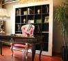 样板间-端庄而又高贵的书房