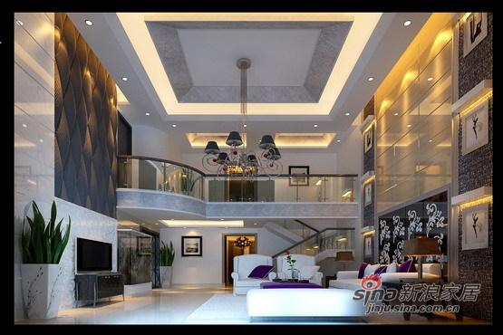 欧式 别墅 客厅图片来自用户2746889121在全方位打造360平简约欧式风格家【世纪花园】40的分享