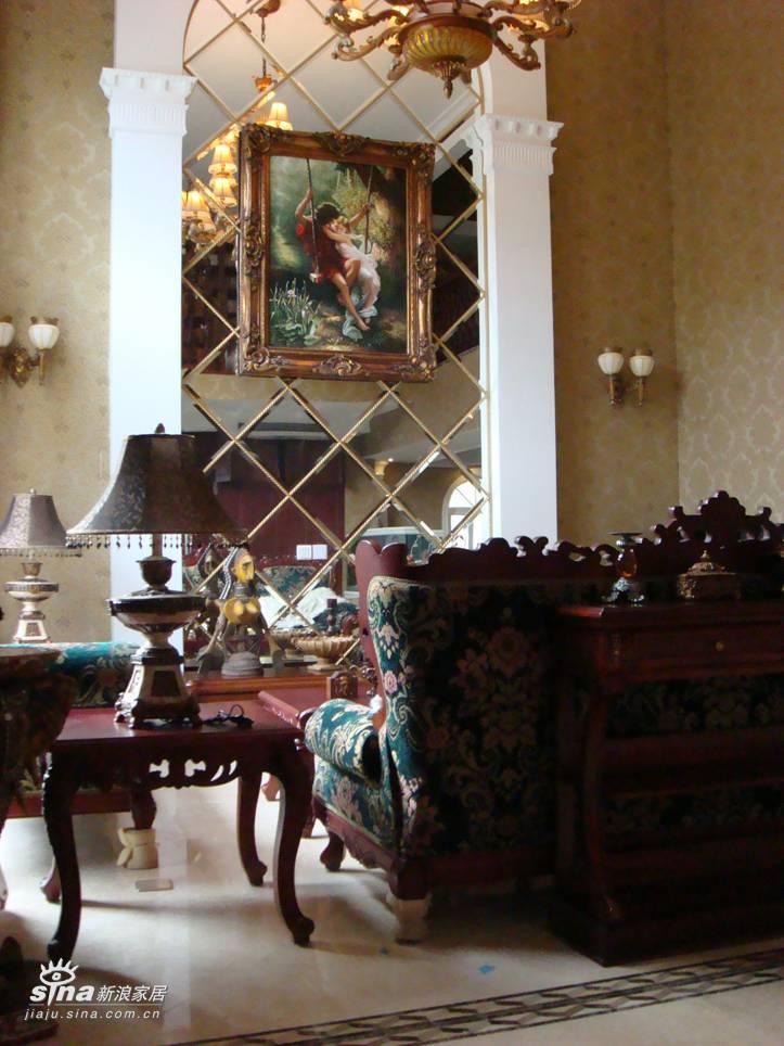 欧式 别墅 客厅图片来自用户2772873991在中海安德鲁斯58的分享