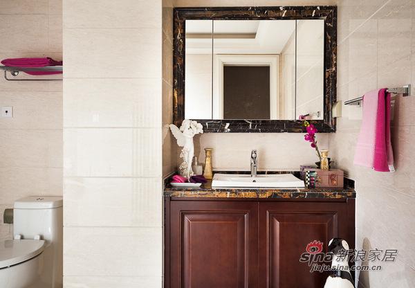 欧式 别墅 卫生间图片来自用户2557013183在高富帅的另类欧式奢华风格14的分享