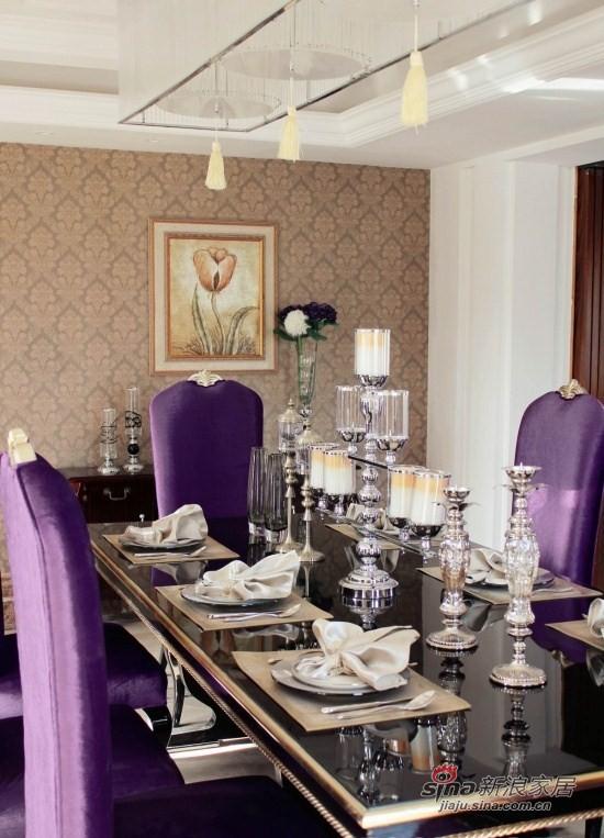 欧式 别墅 餐厅图片来自用户2746953981在21万218平装欧式幸福家园56的分享