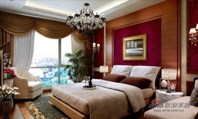 欧式 三居 卧室图片来自用户2746869241在9万营造159平现代欧式三居98的分享