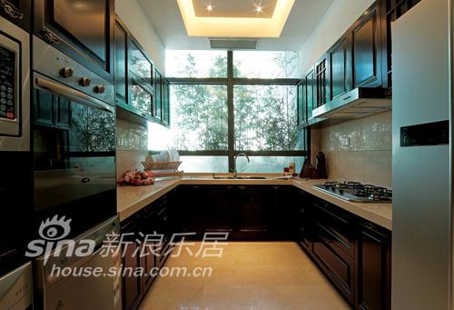 中式 别墅 厨房图片来自wulijuan_16在春亭装潢 新中式滨海御庭T1型别墅67的分享
