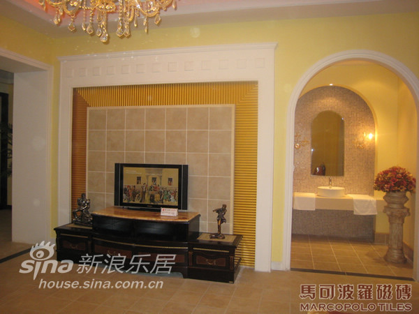 地中海 四居 客厅图片来自用户2757320995在欧式古典风格-马可波罗12的分享