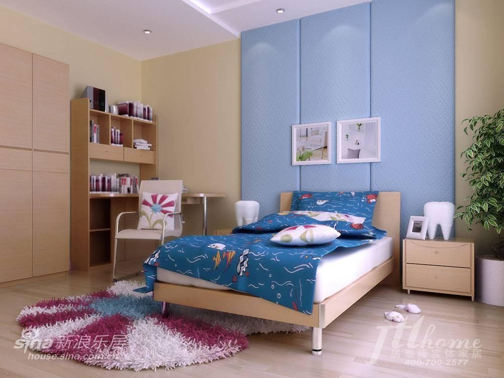 简约 三居 儿童房图片来自用户2738093703在130平简约素雅的时尚美家88的分享