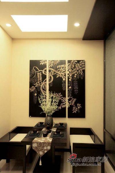 简约 复式 餐厅图片来自佰辰生活装饰在走进110平现代日式豪华居62的分享