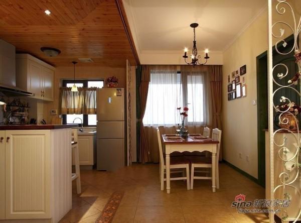 开放式厨房及餐厅