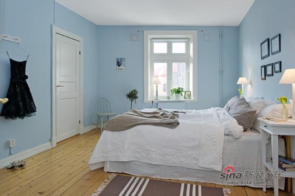 北欧 三居 卧室图片来自用户1903515612在90平春色撩人北欧美家44的分享