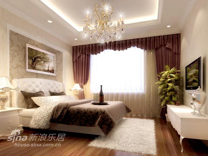 欧式 三居 卧室图片来自用户2557013183在简约新古典36的分享