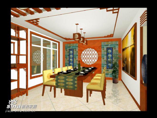 中式 四居 餐厅图片来自用户2757926655在左安门19的分享