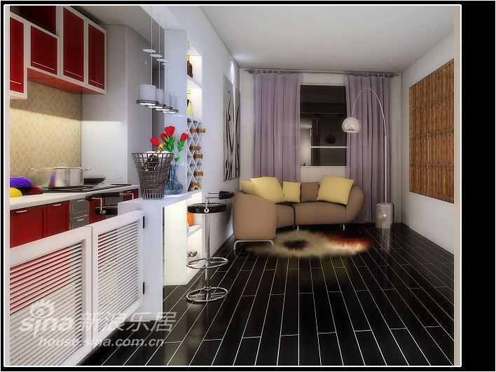 简约 二居 厨房图片来自用户2558728947在简约风格两居34的分享