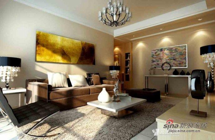 简约 二居 客厅图片来自用户2739153147在7万打造90平简约温馨婚房53的分享