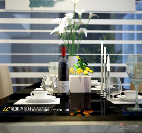 餐厅餐桌软装配饰