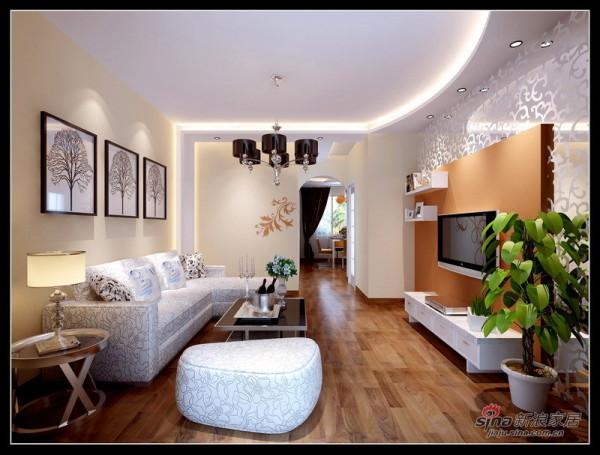 80平客厅设计
