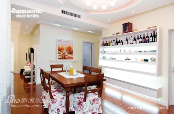 餐边柜设计成漂亮的酒柜,实用又时尚