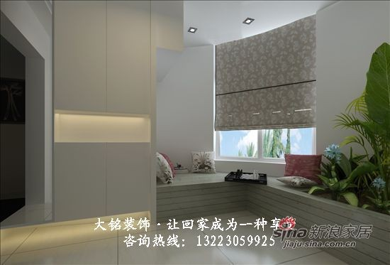 现代简约家庭装修设计-阳台