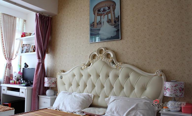 简约 二居 卧室图片来自装修微日记在【高清】45平温馨甜蜜简约二人世界67的分享