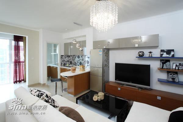 简约 一居 客厅图片来自用户2739378857在沿海40的分享