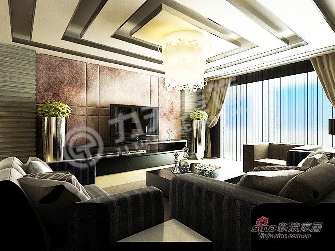 欧式 别墅 客厅图片来自阳光力天装饰在216平空间优化通用陆院70的分享
