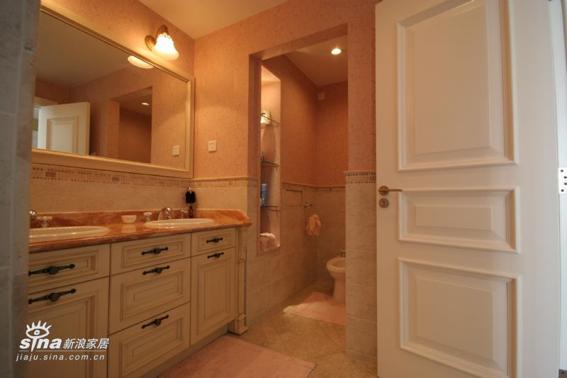 欧式 别墅 卫生间图片来自用户2757317061在紫金长安29的分享