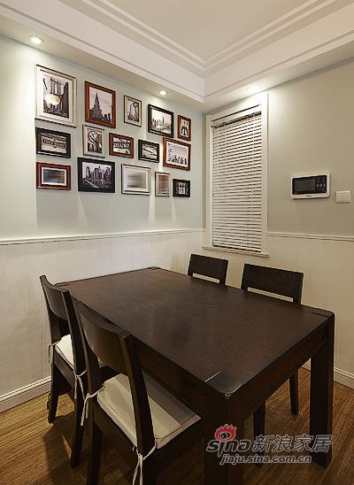 混搭 二居 餐厅图片来自装修微日记在【高清】89平现代美式混搭二人世界91的分享