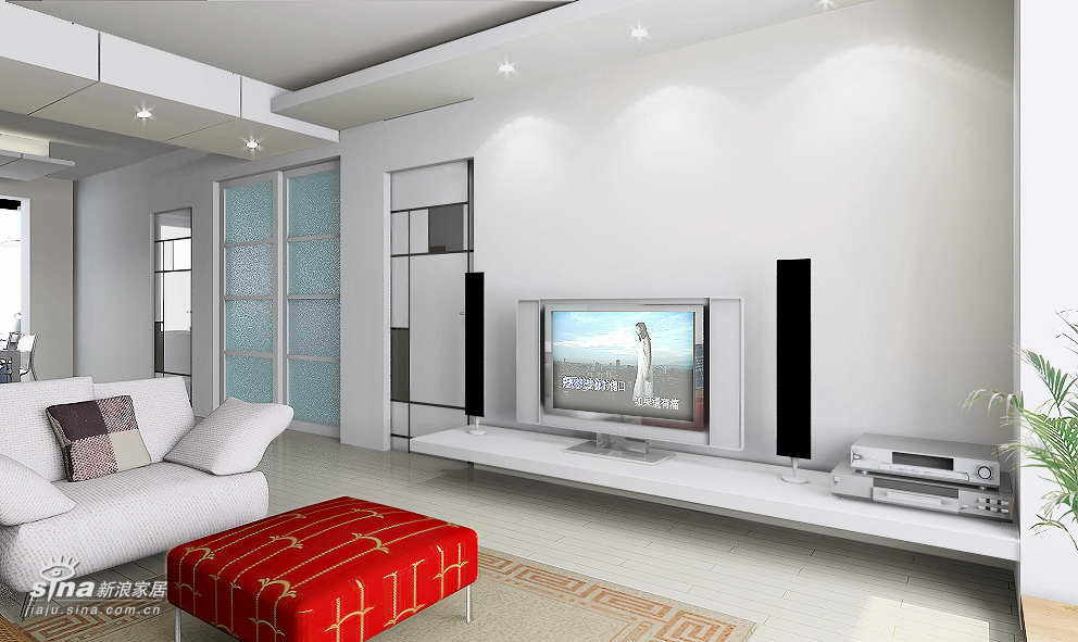 简约 一居 客厅图片来自用户2738820801在上京新航线69的分享