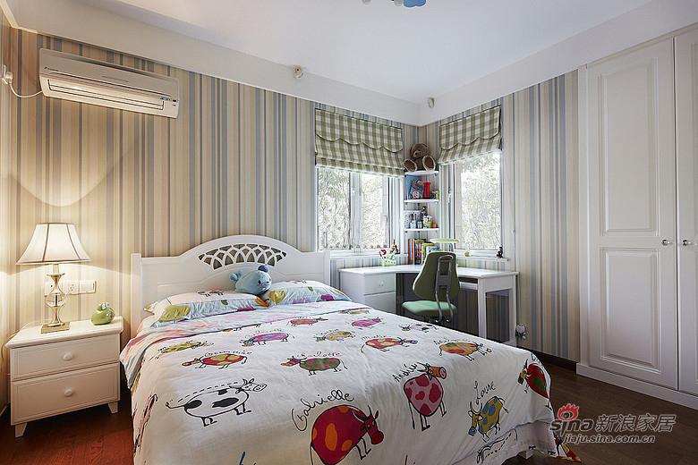 混搭 三居 儿童房图片来自装修微日记在【高清】165平后现代古典混搭时尚3居室17的分享