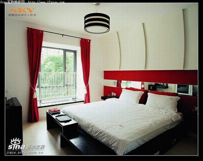其他 复式 卧室图片来自用户2557963305在时尚风向标—红黑白演绎31的分享