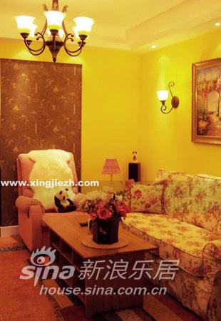 田园 别墅 客厅图片来自用户2737791853在经纬绿地95的分享