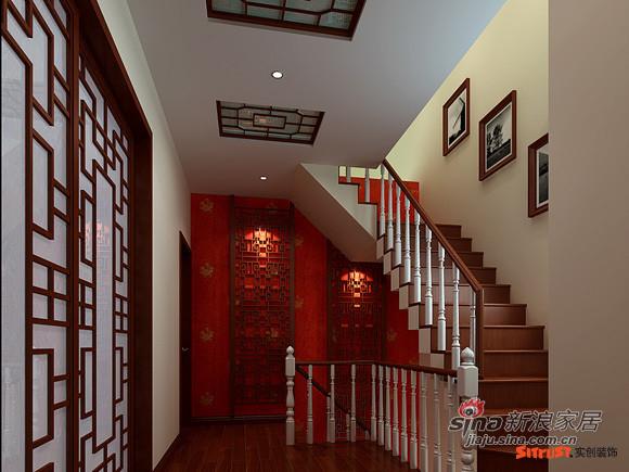 二层楼梯处