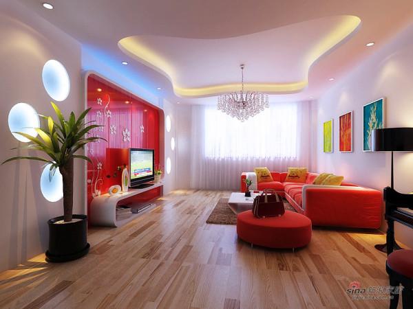 简约 一居 客厅图片来自用户2737786973在5万硬装150平时尚经典爱家27的分享