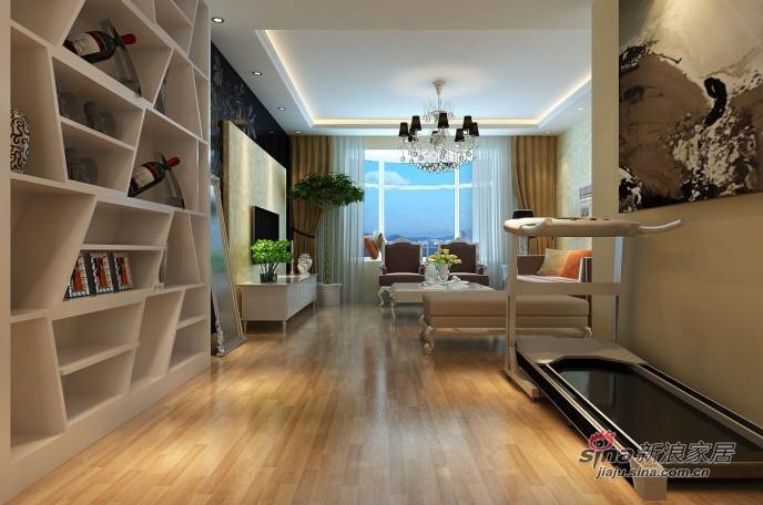欧式 三居 客厅图片来自用户2772856065在6.7W装扮你现代简欧风格的三居室38的分享