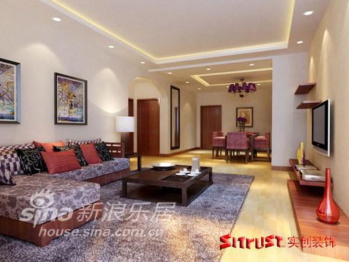 其他 二居 客厅图片来自用户2558757937在112平东南亚风格20的分享