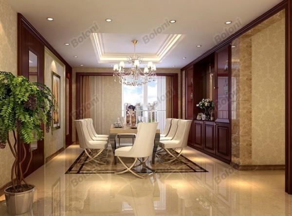 此套轻古典的家装风格,摒弃了简约的呆板和