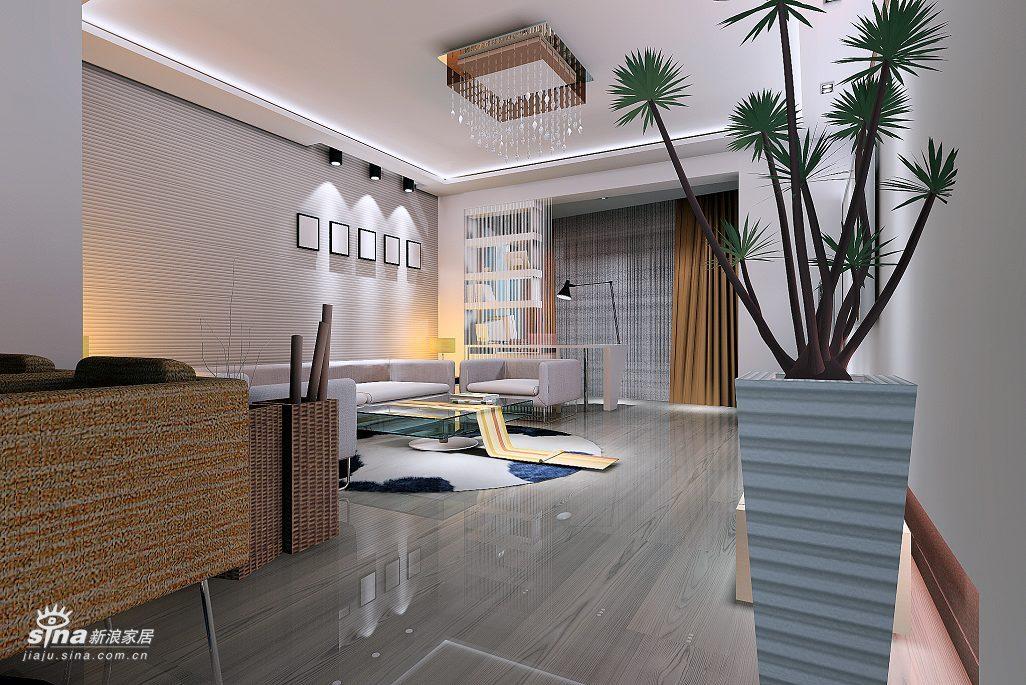 简约 二居 客厅图片来自用户2737759857在电脑3D 现代简约设计26的分享