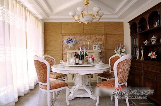 其他 别墅 餐厅图片来自用户2557963305在浪漫不失大方 自然乡村风大气别墅10的分享