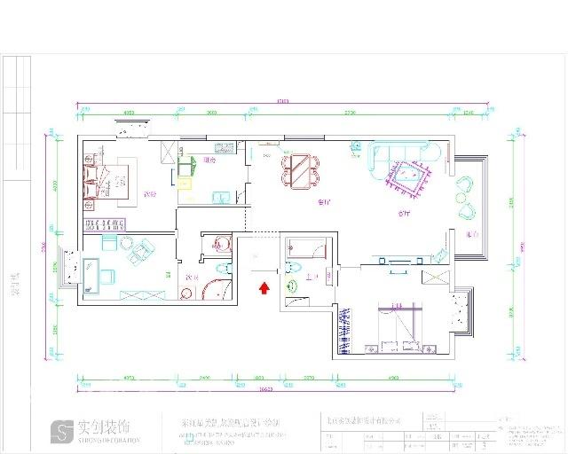 简约 三居 客厅图片来自用户2737759857在简约实用型三居室39的分享