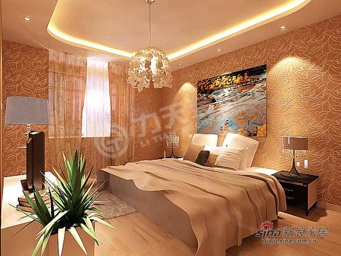 欧式 二居 卧室图片来自阳光力天装饰在102平华城领秀欧式两居85的分享