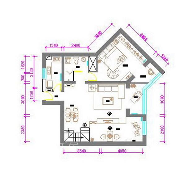 其他 四居 客厅图片来自用户2558757937在望京新城17的分享