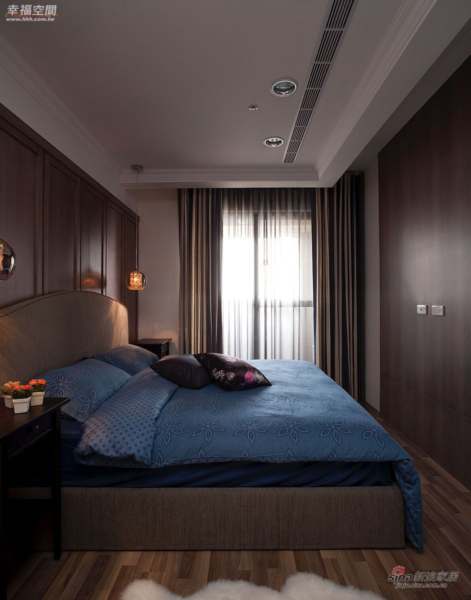 新古典 公寓 卧室图片来自幸福空间在9万打造都会雅痞的轻古典生活50的分享