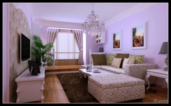 【第一城】沙发背景效果图