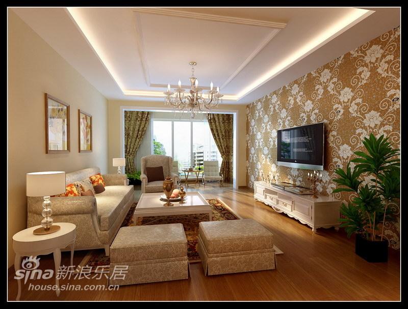 欧式 三居 客厅图片来自用户2557013183在简约新古典36的分享