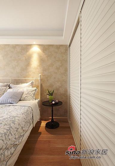 简约 三居 卧室图片来自用户2737782783在小夫妻5.8万大造110平简约三居室94的分享