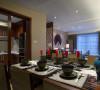 123平中御公馆装修传统中透着现代中式风格96