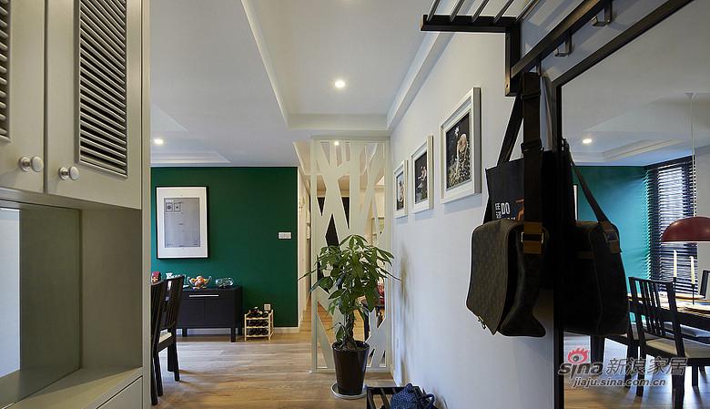 混搭 二居 玄关图片来自装修微日记在【高清】92平暖暖宜家简约风格空间57的分享