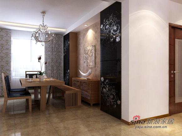 中式 三居 餐厅图片来自用户1907662981在8万编织126平美丽温馨3居92的分享