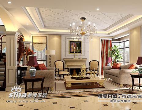 欧式 别墅 客厅图片来自用户2746889121在东易日盛-亚运新新家园69的分享