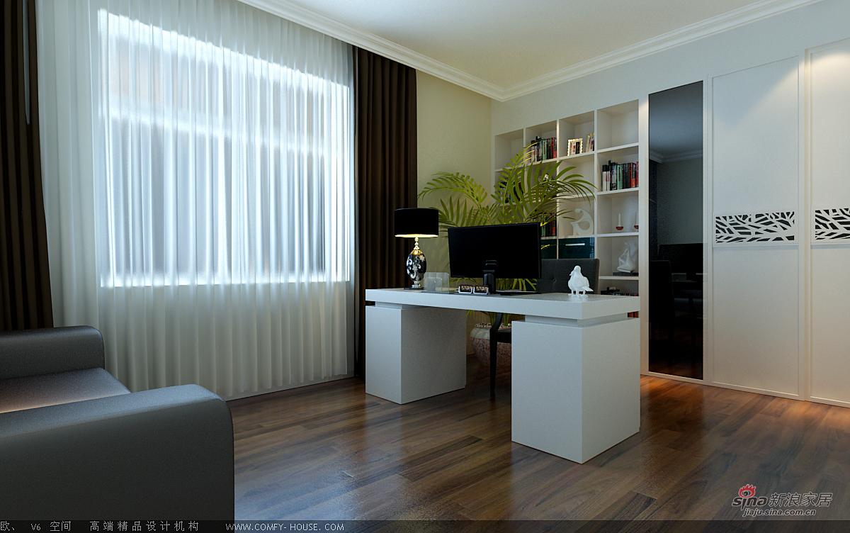简约 二居 书房图片来自用户2738845145在现代简约装饰效果46的分享