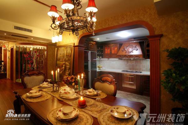欧式 三居 厨房图片来自用户2746953981在典雅欧式98的分享
