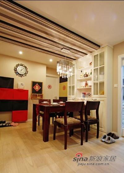 简约 二居 餐厅图片来自用户2738093703在6万巧装现代简约时尚二居室27的分享